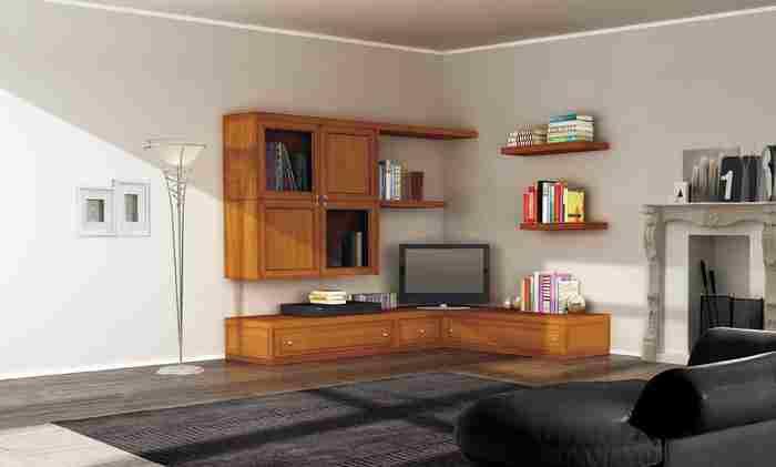 Simple arredamento per soggiorno ad angolo chiudi with - Soggiorni ad angolo ...